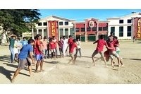university of perpetual help indian medical students playing kabbadi