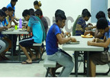 men hostel canteen at university of perpetual help